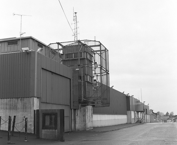 RUC station, Keady, Co. Armagh, October 2001-March 2002.